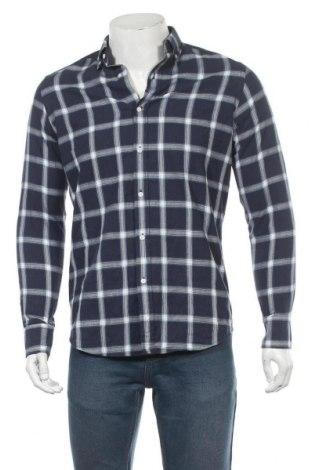 Ανδρικό πουκάμισο Massimo Dutti, Μέγεθος S, Χρώμα Μπλέ, 100% βαμβάκι, Τιμή 11,40€