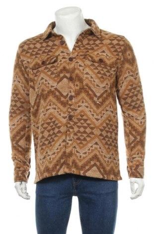 Pánská košile  Native Youth, Velikost M, Barva Béžová, 89% polyester, 11% vlna, Cena  415,00Kč
