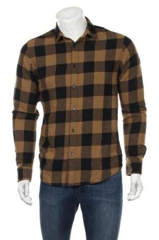 Ανδρικό πουκάμισο Only & Sons, Μέγεθος M, Χρώμα Μαύρο, Βαμβάκι, Τιμή 22,81€