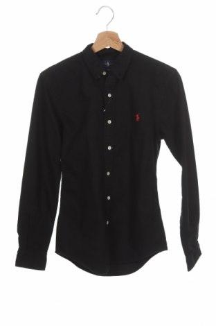 Мъжка риза Ralph Lauren, Размер XS, Цвят Черен, Памук, Цена 71,52лв.