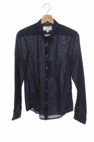 Ανδρικό πουκάμισο Tom Tailor, Μέγεθος XS, Χρώμα Μπλέ, Βαμβάκι, Τιμή 18,25€