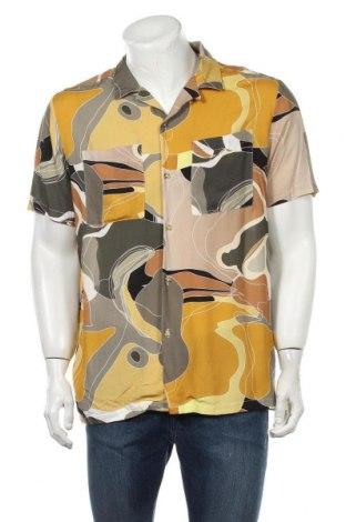 Ανδρικό πουκάμισο Topman, Μέγεθος L, Χρώμα Πολύχρωμο, Βισκόζη, Τιμή 26,68€