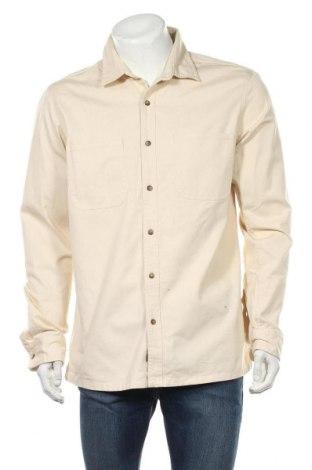 Ανδρικό πουκάμισο Topman, Μέγεθος L, Χρώμα  Μπέζ, Βαμβάκι, Τιμή 26,68€