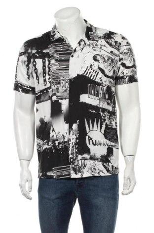 Ανδρικό πουκάμισο Topman, Μέγεθος M, Χρώμα Μαύρο, Βισκόζη, Τιμή 20,10€