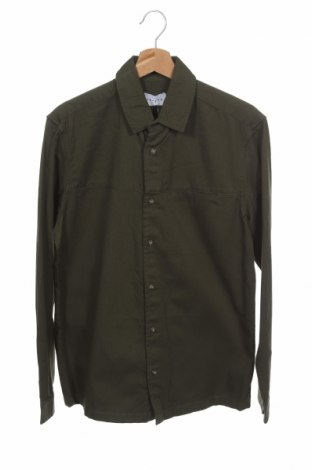 Ανδρικό πουκάμισο Topman, Μέγεθος S, Χρώμα Πράσινο, Βαμβάκι, Τιμή 21,65€