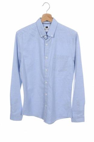 Pánská košile  Topman, Velikost S, Barva Modrá, 98% bavlna, 2% elastan, Cena  339,00Kč