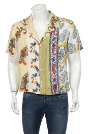 Cămașă de bărbați Urban Outfitters, Mărime M, Culoare Multicolor, Viscoză, Preț 194,90 Lei