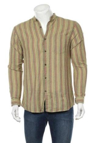Мъжка риза Urban Outfitters, Размер S, Цвят Многоцветен, Памук, Цена 66,75лв.