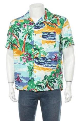 Мъжка риза Urban Outfitters, Размер M, Цвят Многоцветен, Вискоза, Цена 55,50лв.