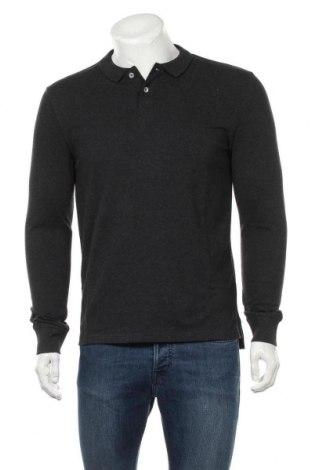 Мъжка блуза Pier One, Размер M, Цвят Сив, 60% памук, 40% полиестер, Цена 28,42лв.