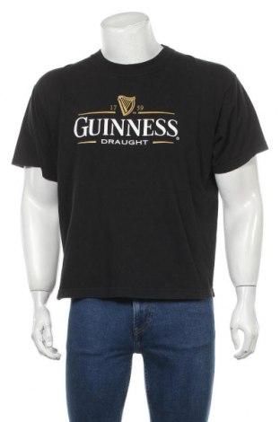 Мъжка тениска, Размер M, Цвят Черен, Памук, Цена 16,50лв.