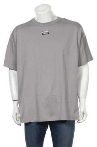 Tricou de bărbați Adidas Originals, Mărime XL, Culoare Gri, Bumbac, Preț 170,23 Lei