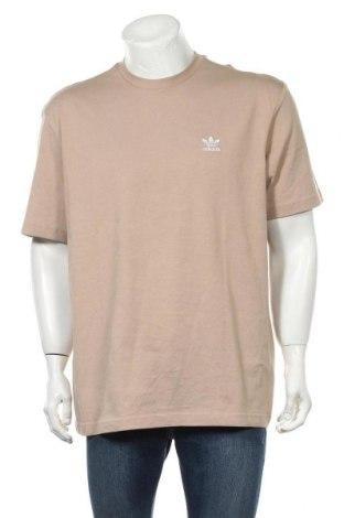 Tricou de bărbați Adidas Originals, Mărime L, Culoare Bej, Bumbac, Preț 128,29 Lei