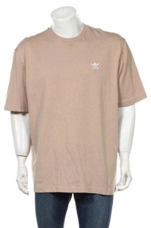 Мъжка тениска Adidas Originals, Размер XL, Цвят Бежов, Памук, Цена 35,36лв.