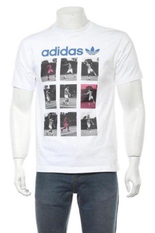 Мъжка тениска Adidas Originals, Размер S, Цвят Бял, 100% памук, Цена 46,92лв.