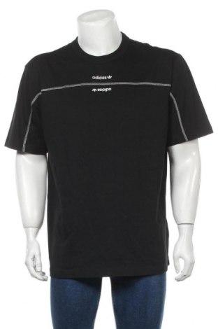 Tricou de bărbați Adidas Originals, Mărime L, Culoare Negru, Bumbac, Preț 170,23 Lei