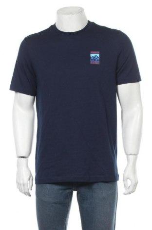 Мъжка тениска Adidas Originals, Размер M, Цвят Син, Памук, Цена 46,92лв.