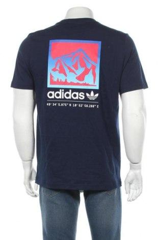 Мъжка тениска Adidas Originals, Размер M, Цвят Син, Памук, Цена 51,75лв.