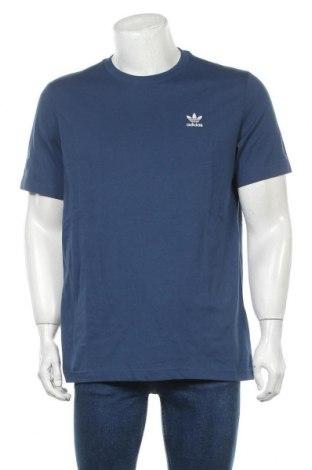 Tricou de bărbați Adidas Originals, Mărime M, Culoare Albastru, Bumbac, Preț 170,23 Lei