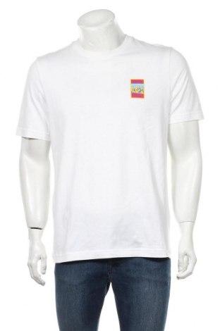 Tricou de bărbați Adidas Originals, Mărime M, Culoare Alb, Bumbac, Preț 170,23 Lei