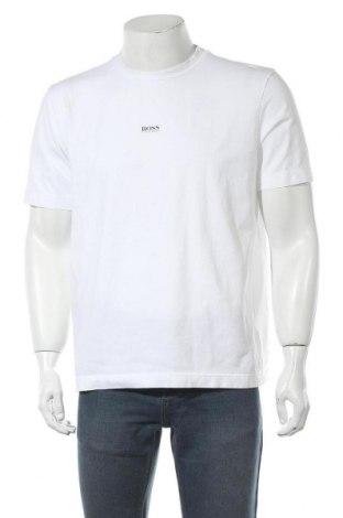 Tricou de bărbați Boss, Mărime L, Culoare Alb, Bumbac, Preț 224,90 Lei