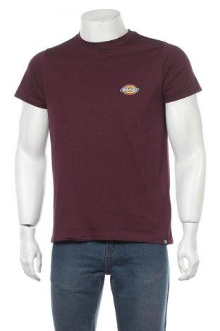 Мъжка тениска Dickies, Размер M, Цвят Червен, Памук, Цена 29,25лв.