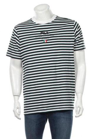 Мъжка тениска Fila, Размер L, Цвят Многоцветен, Памук, Цена 44,25лв.