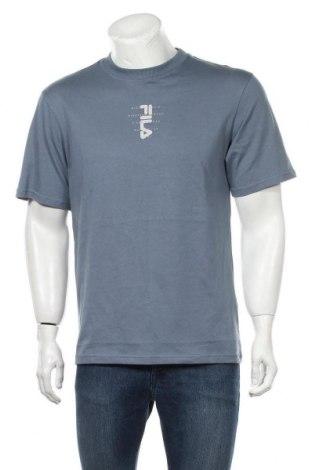 Мъжка тениска Fila, Размер S, Цвят Син, Памук, Цена 33,00лв.