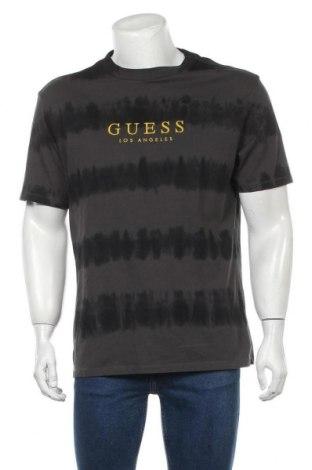Мъжка тениска Guess, Размер S, Цвят Сив, Памук, Цена 79,00лв.
