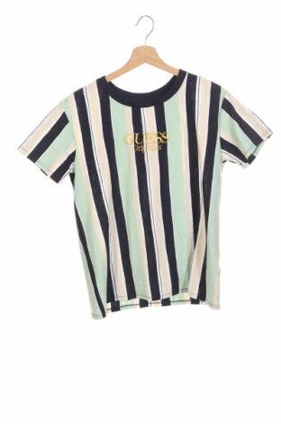 Дамска тениска Guess, Размер XXS, Цвят Многоцветен, Памук, Цена 51,00лв.