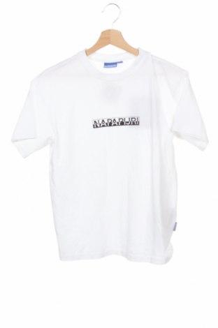 Ανδρικό t-shirt Napapijri, Μέγεθος XS, Χρώμα Λευκό, 100% βαμβάκι, Τιμή 27,53€
