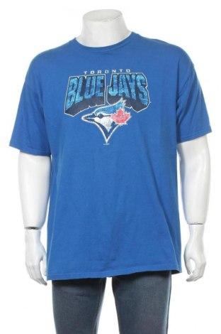 Мъжка тениска New Era, Размер XL, Цвят Син, Памук, Цена 49,00лв.