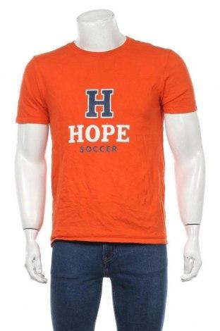 Мъжка тениска Nike, Размер M, Цвят Оранжев, Цена 48,75лв.