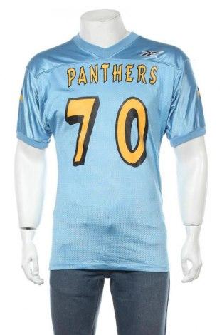 Мъжка тениска Reebok, Размер L, Цвят Син, Полиамид, Цена 31,50лв.