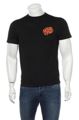 Мъжка тениска Santa Cruz, Размер S, Цвят Черен, Памук, Цена 49,00лв.