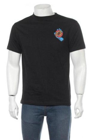 Мъжка тениска Santa Cruz, Размер M, Цвят Черен, Памук, Цена 49,00лв.