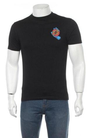 Мъжка тениска Santa Cruz, Размер S, Цвят Черен, Памук, Цена 42,00лв.