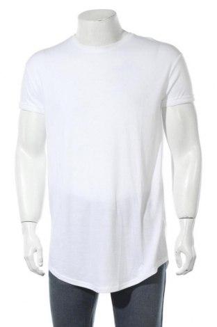 Мъжка тениска Topman, Размер M, Цвят Бял, 50% полиестер, 50% вискоза, Цена 11,60лв.