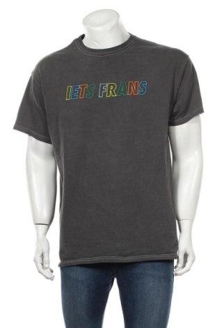 Мъжка тениска Urban Outfitters, Размер M, Цвят Сив, Памук, Цена 48,30лв.