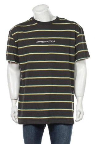 Мъжка тениска Urban Outfitters, Размер M, Цвят Сив, Памук, Цена 41,30лв.