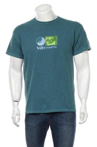 Мъжка тениска Urban Outfitters, Размер S, Цвят Зелен, Цена 32,20лв.