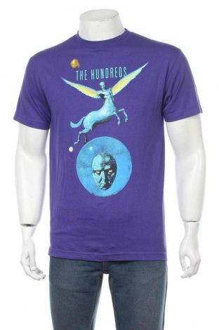 Мъжка тениска The Hundreds, Размер M, Цвят Лилав, Памук, Цена 44,25лв.