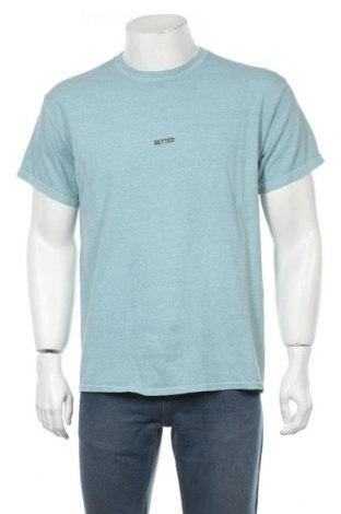 Мъжка тениска Urban Outfitters, Размер M, Цвят Син, Памук, Цена 31,85лв.