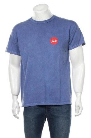 Мъжка тениска Urban Outfitters, Размер S, Цвят Син, Памук, полиестер, Цена 39,00лв.