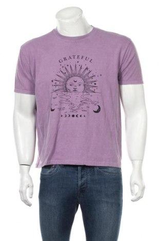 Ανδρικό t-shirt Urban Outfitters, Μέγεθος L, Χρώμα Βιολετί, 100% βαμβάκι, Τιμή 17,68€