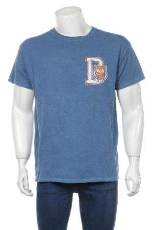 Мъжка тениска Urban Outfitters, Размер S, Цвят Син, Памук, Цена 28,32лв.