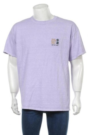 Мъжка тениска Urban Outfitters, Размер M, Цвят Лилав, Памук, Цена 37,95лв.