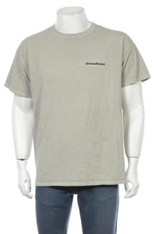Мъжка тениска Urban Outfitters, Размер S, Цвят Зелен, Памук, Цена 20,65лв.