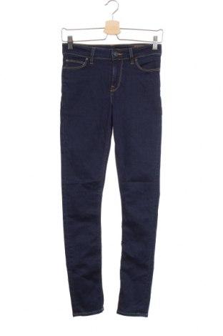 Мъжки дънки ASOS, Размер XS, Цвят Син, 92% памук, 6% полиестер, 2% еластан, Цена 11,77лв.