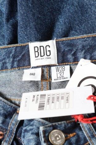 Мъжки дънки BDG, Размер XS, Цвят Син, Памук, Цена 20,41лв.